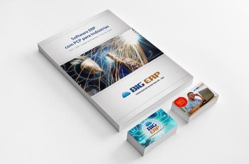 Identidade Visual, Logotipo, Automação de Marketing Digital, Impressos, mterial de apoio ao Depto. Comercial