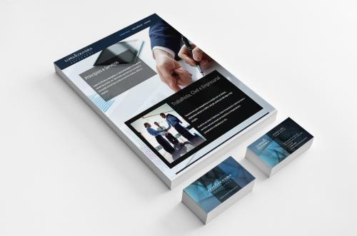 Identidade Visual, Logotipo, Site, Papelaria Institucional